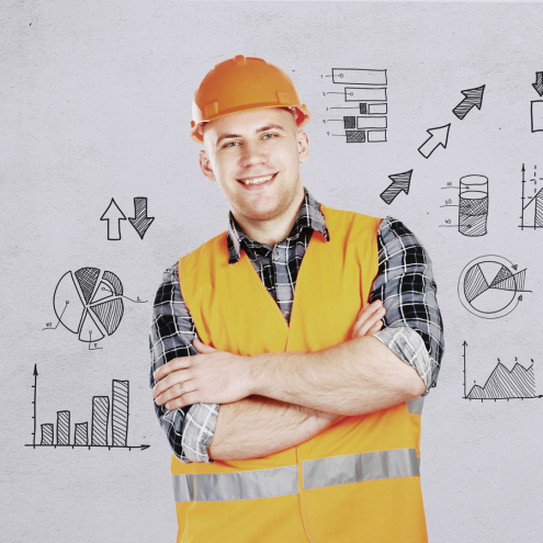 Image of a construction worker to represent CIS accountants in Cheshire & Yorkshire, CIS returns and CIS compliance